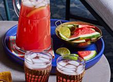 Watermelon-Lime Sangria