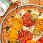 Garden Pesto Pizza