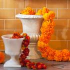 How to Make a Marigold Garland