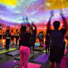Adler Planetarium Yoga