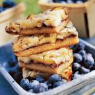 Blueberry Almond Bars