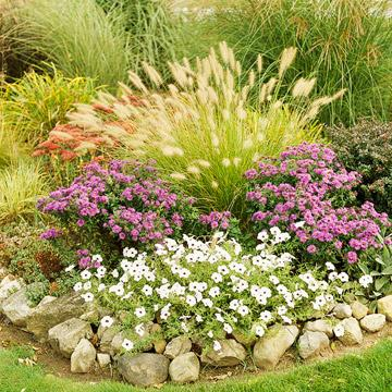 Perfect partners for ornamental grasses midwest living for Ornamental grass garden ideas