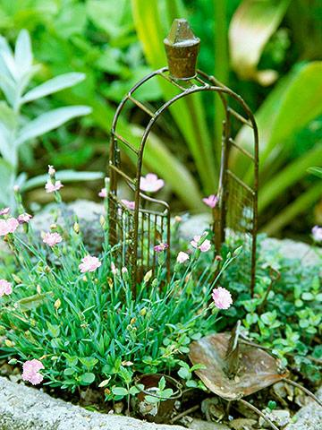 Fairy Garden Container Ideas indoor and outdoor container ideas for miniature gardening Create A Magical Miniature Garden Midwest Living
