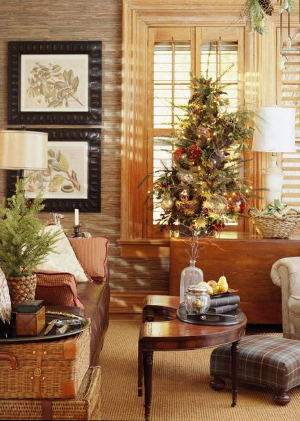 Home Living Room Decorating Ideas: Holiday House Tour: At Home With Nell Hill's Owner