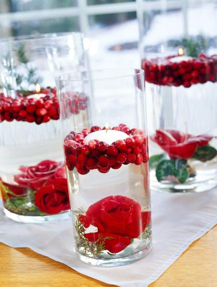 Holiday Decorating With Cranberries Midwest Living