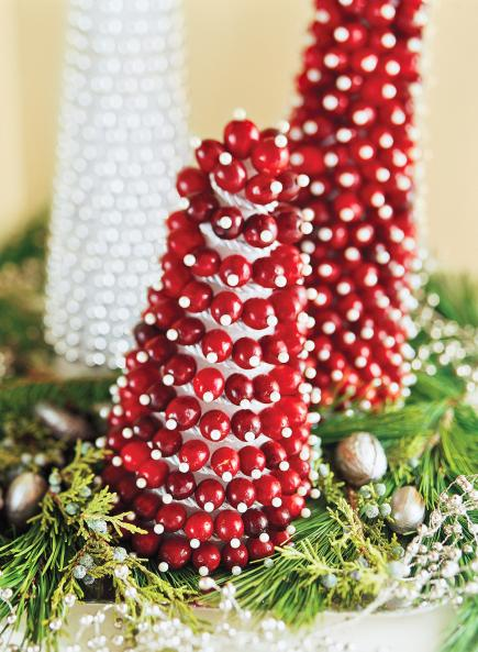 Cranberry cones