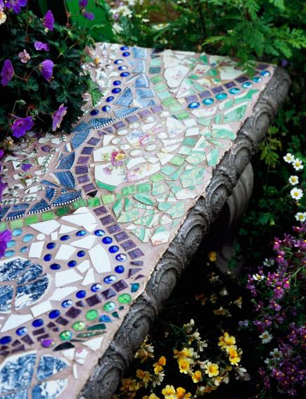 Create Mosaic Magic In Your Garden Midwest Living