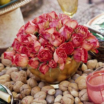 go nuts - Thanksgiving Centerpieces Ideas