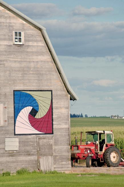 11 Barn Quilt Trails to Explore | Midwest Living : quilt on barns - Adamdwight.com