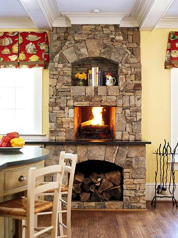 10 inspiring fireplaces midwest living