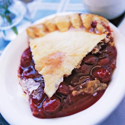 Michigan Cherry-Berry Pie