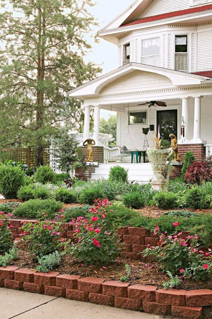 Landscaping Ideas For Front Of House In Northeast : Tags garden design spring gardening summer plants