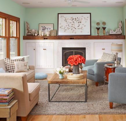 & 15 Comfortable Family Rooms | Midwest Living