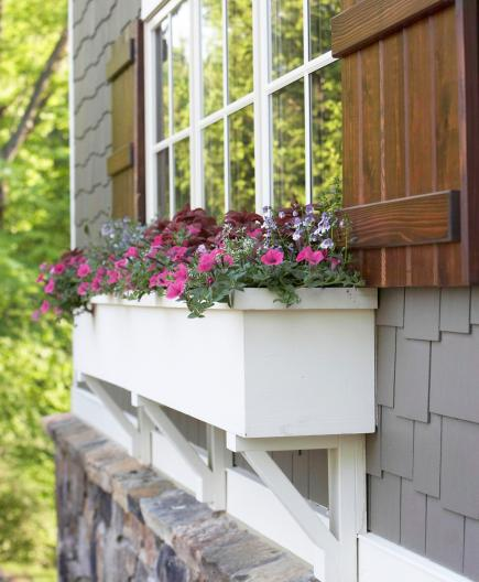 Window Planters: 30 Bright And Beautiful Window Box Planters