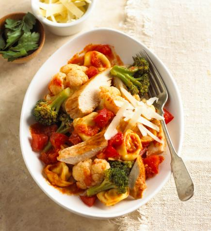 Easy dinner recipes to make in 20 minutes or less midwest living pesto pasta toss forumfinder Image collections