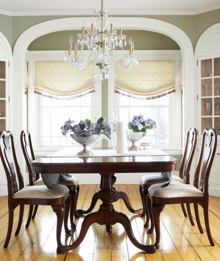 Midwest Living Idea House 2003: Before And After: Dining Rooms