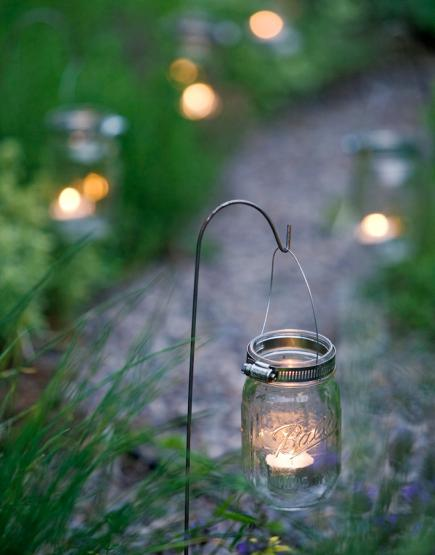18 Ideas For Outdoor Lighting. Try Mason Jars ...