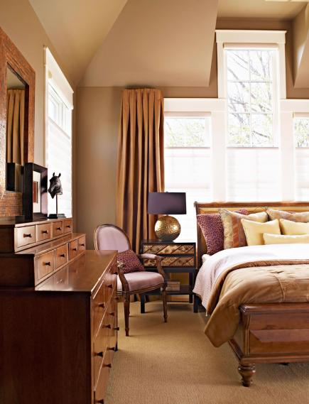 Masculine mode. 45 Beautiful Bedroom Designs   Midwest Living
