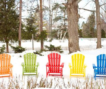 The colors of winter & 13 Reasons to Love Door County in Winter | Midwest Living
