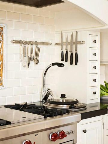 Hang it up & 30 Quick and Easy Ideas for Kitchen Organization | Midwest Living