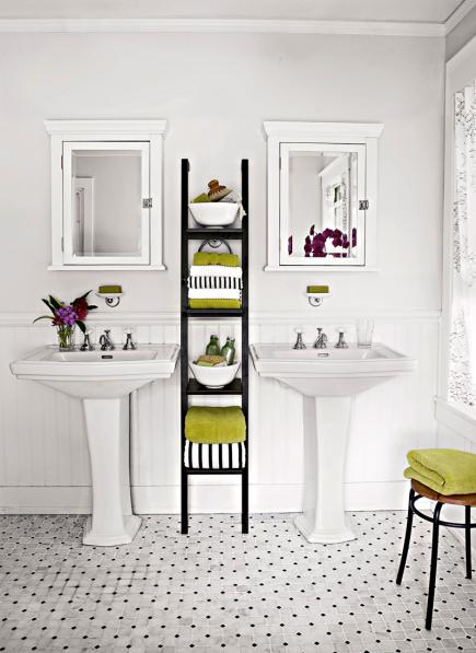 square mirror decorating ideas