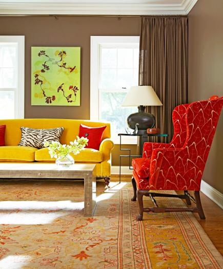 Midwest Living Idea House 2003: How To Decorate With Color