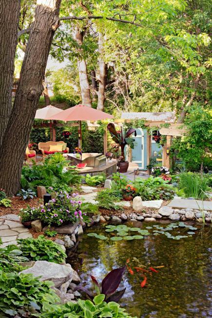 35 Beautiful Backyards & 35 Beautiful Backyards   Midwest Living