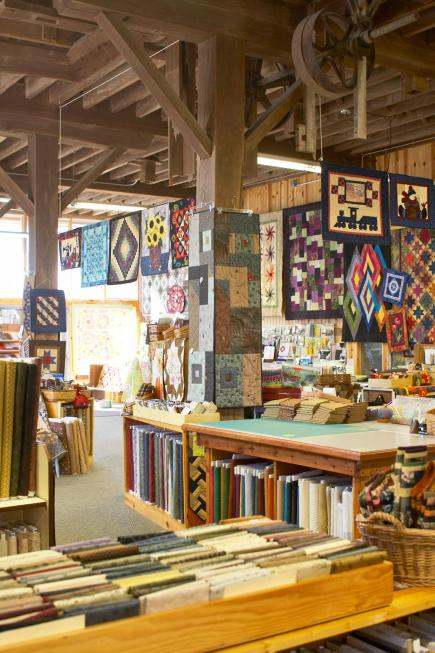 Things to Do in the Amana Colonies--Heritage Designs Quilting and Needlework