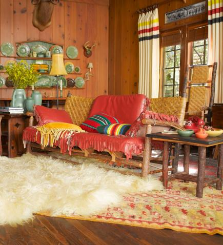 Decorate with Cabin Style | Midwest Living
