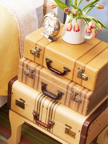 decorating ideas for vintage finds midwest living. Black Bedroom Furniture Sets. Home Design Ideas