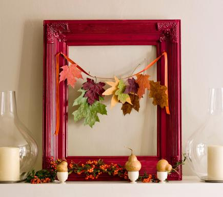 a picture of fall - Fall Decorating