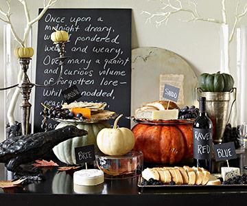 create a mood - Sophisticated Halloween Decorations