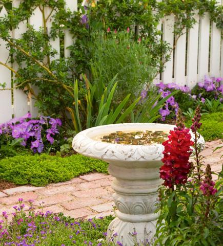 Birdbaths To Enhance Your Landscape