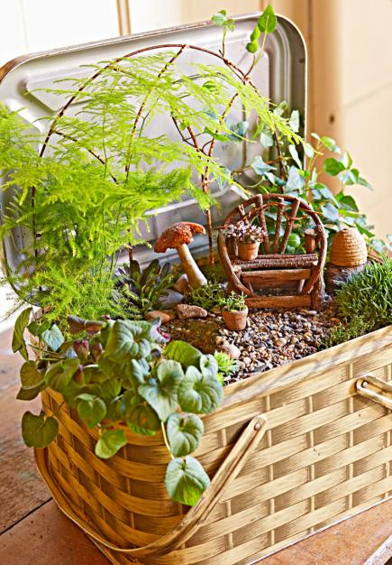 Miniature Garden Ideas minigarde design idea Create A Magical Miniature Garden