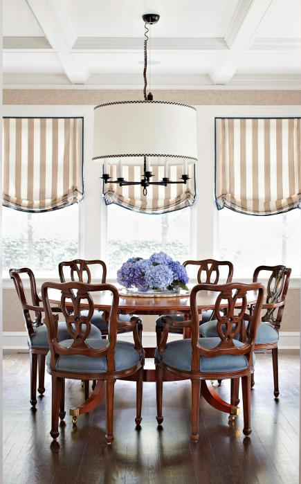 dress up a ceiling - Decorating Dining Room