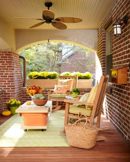 Midwest Living Idea House 2003: 40 Ideas For Warm And Welcoming Porches