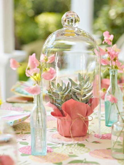 Colorful Summer Centerpieces