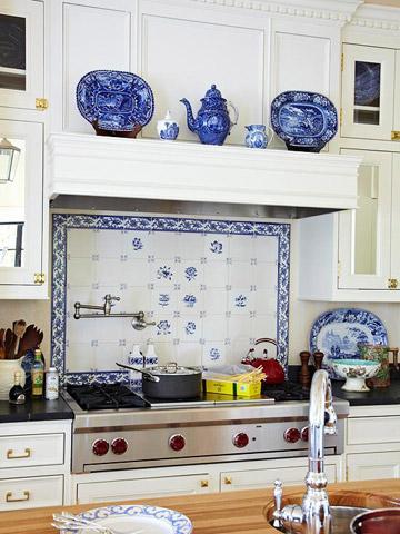 Kitchen Backsplash Behind Stove quick and easy kitchen backsplash updates | midwest living