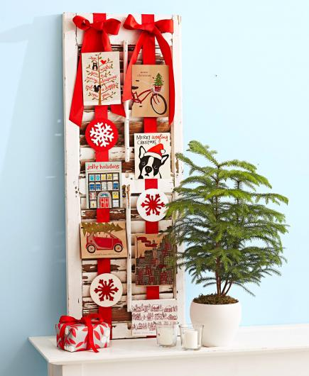 10 christmas card display ideas midwest living 10 christmas card display ideas m4hsunfo
