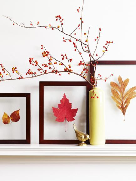 Fall Wall Decor 50 easy fall decorating projects | midwest living