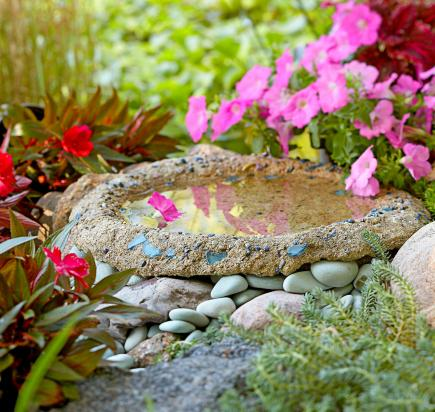 Birdbaths to enhance your landscape midwest living birdbaths to enhance your landscape workwithnaturefo