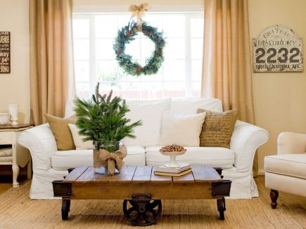 Christmas Living Room 25 beautiful christmas living rooms | midwest living