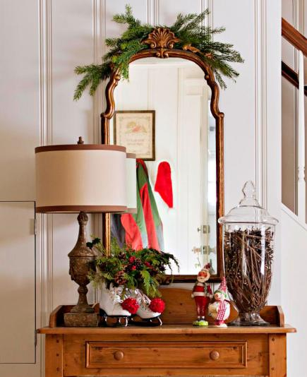 Simple Christmas Home Decorations: 50 Quick And Easy Holiday Decorating Ideas