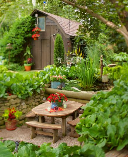 Small Home Garden Ideas Sample: 35 Beautiful Backyards