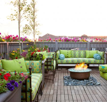 deck furniture ideas. Revitalize With Color Deck Furniture Ideas
