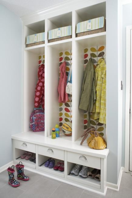 pattern play - Mudroom Design Ideas