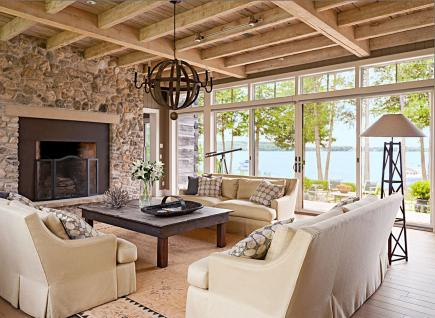 Maximizing The View. This Living Room ...