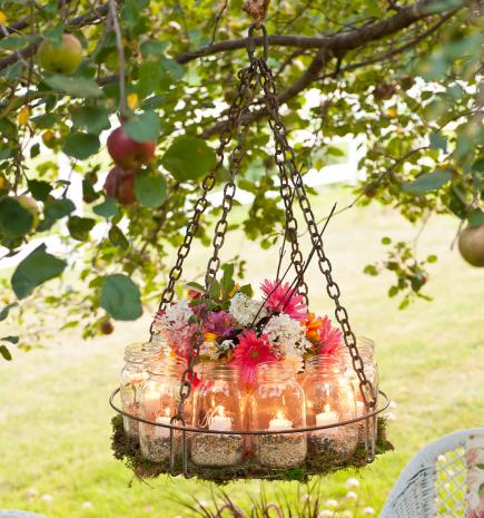 Superbe How To Make A Garden Chandelier