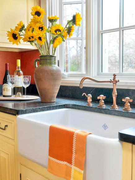 Give your kitchen a french country look midwest living for Midwest kitchen and bath