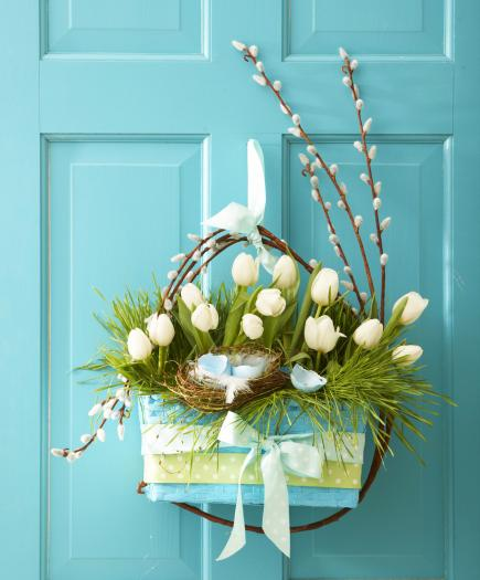 10 Welcoming Spring Door Decorations Midwest Living